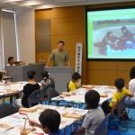 「木のおはし」づくりを開催しました(京都木材青年経営者協議会、京エコロジーセンターにて)