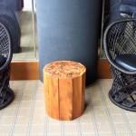 木材を活用したおもしろいテーブル見つけました!