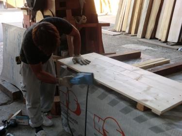 オリジナル木箱(製作中2)