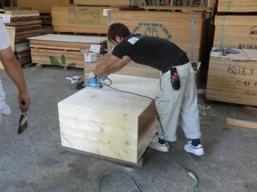 オリジナル木箱(製作中1)