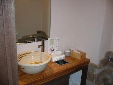 手洗いカンター